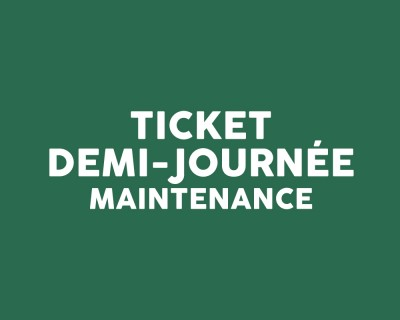 Ticket intervention demi journée